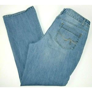 Faded Glory Boot Cut Blue Jeans